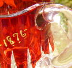 Click to view larger image of Cordova Individual Ruby Stained Creamer (Image4)