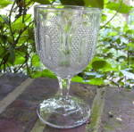 Click to view larger image of Buckle Flint Goblet (Image1)
