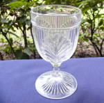 Click here to enlarge image and see more about item 5984: Ribbed Palm Goblet