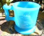 Click to view larger image of Deer and Cow Toy Mug Opaque Blue (Image2)