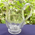 Grape and Festoon Water Pitcher
