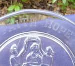Click to view larger image of Faith Hope Charity Plate (Image5)