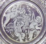 Click to view larger image of Angels/Cupids Lacy Edge Plate (Image2)