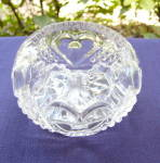 Heart with Thumbprint Small Rose Bowl