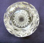 Click to view larger image of Heart with Thumbprint Small Rose Bowl (Image4)