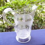Click here to enlarge image and see more about item 6129: Polar Bear Water Pitcher