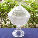 Click to view larger image of Willow Oak High Standard Covered Compote (Image1)