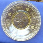 Click to view larger image of Willow Oak Amber Plates (2) (Image4)