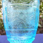 Click to view larger image of Willow Oak Blue Goblet (Image2)