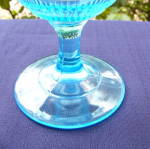 Click to view larger image of Willow Oak Blue Goblet (Image3)