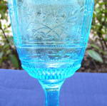Click to view larger image of Willow Oak Blue Goblet (Image5)