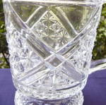 Click to view larger image of Daisy and Button with Crossbars Water Pitcher (Image3)