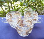Scroll with Cane Band Punch Cups (3)