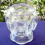 Click here to enlarge image and see more about item 6236: Frost Crystal Rose Bowl