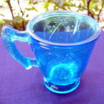Diamond with Circle Mug, Blue