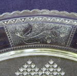 Click to view larger image of Paneled Forget me Not Tray (Image2)