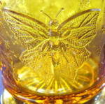 Click to view larger image of Butterfly with Spray Amber Mug (Image2)