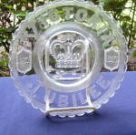 Click here to enlarge image and see more about item 6296: Victoria Jubilee Plate/Bowl