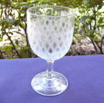 Click here to enlarge image and see more about item 6300: Lace Goblet