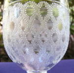 Click to view larger image of Lace Goblet (Image2)