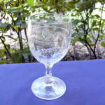 Click here to enlarge image and see more about item 6301: Bleeding Heart Goblet
