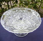 Click here to enlarge image and see more about item 6304: Twin Teardrops Toy Cake Stand