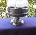 Click to view larger image of Fine Rib 6 Bottle Castor Set (Image3)