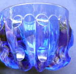 Click to view larger image of Broken Column Cobalt Custard Cup (Image4)