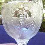 Click to view larger image of Beaded Grape Medallion Goblet (Image2)