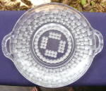 Basketweave Cake Plate