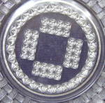 Click to view larger image of Basketweave Cake Plate (Image3)