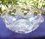 Click here to enlarge image and see more about item 6362: Heart with Thumbprint Bowl
