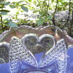 Click to view larger image of Heart with Thumbprint Bowl (Image2)