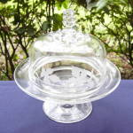 Click here to enlarge image and see more about item 6372: Pavonia Butter Dish
