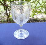 Click here to enlarge image and see more about item 6375:  Garfield Drape Goblet