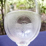 Click to view larger image of Beaded Grape Medallion Goblets (set of 4) (Image3)