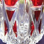 Click to view larger image of  EAPG Triple Triangle Ruby Mug (Image3)