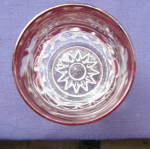Click to view larger image of Kings Crown Ruby Thumbprint Tumblers and Pitcher (Image7)
