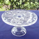 Heart with Thumbprint Cake Stand