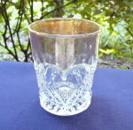 Heart with Thumbprint Tumbler Gold Flashed