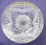 Click to view larger image of  Heart with Thumbprint Medium Rose Bowl (Image2)