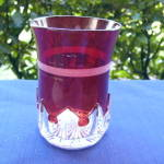 Spearpoint  Band Tumbler – ruby