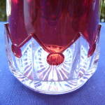 Click to view larger image of Spearpoint  Band Tumbler – ruby (Image2)