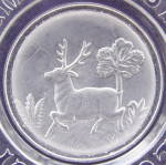 Click to view larger image of Gillinder Deer ABC Plate (Image2)