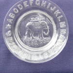 Click to view larger image of ABC Elephant Plate    (Image1)