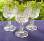 Click here to enlarge image and see more about item B190: Cathedral Wines - set of 3