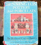 Click here to enlarge image and see more about item BkBennington: Bennington Pottery and Porcelain - book by Barret
