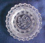 Click here to enlarge image and see more about item LR670A: LR #670A - Eagle Cup Plate