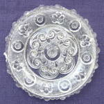 Click here to enlarge image and see more about item X113: Cup Plate Lee Rose #177