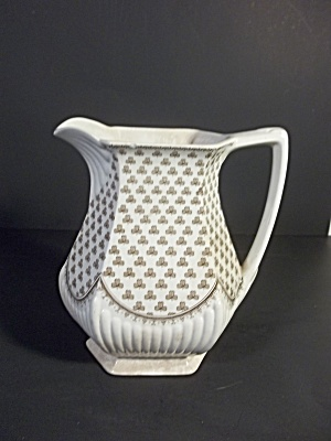 Shamrock Ironstone Pitcher